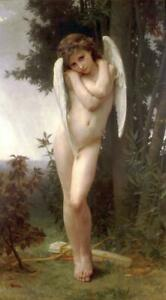 """high quality oil painting handpainted on canvas """"Cupid"""""""