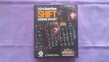 SteelSeries Shift Gaming Keyset Gaming Keyset WarCraft : Cataclysm Tout Neuf