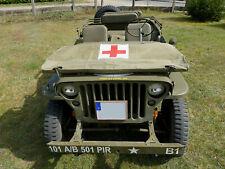 Rotkreuz Santäter Jeep Scheibenabdeckung windshield cover US WILLYS Hotchkiss