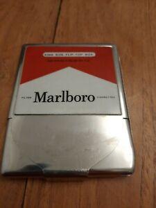 Marlboro Metal Cigarette Case/Tin