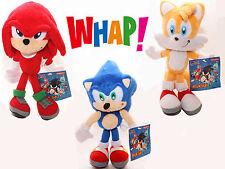 "3-pcs Sega Sonic the Hedgehog Classic Character 8"" Plush Stuffed Doll X'mas Toy"