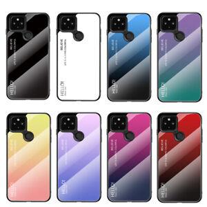 Für Google Pixel 4 4A 5 XL Handy Hülle Schutzhülle Case Gradiant Glitzer Tasche