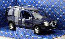 Fiat Doblo Malibu blau 1:24 Norev  Modellauto