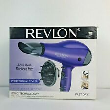 Revlon Professional Styler Ionic Technology 1875W Dryer Adds Shine Reduces Frizz