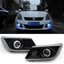 Superb COB Fog Lights Source Angel Eye Bumper Cover for Suzuki Swift 2013