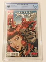 Avenging Spider-Man # 10 CBCS 9.8 Captain Marvel Appearance White Pages