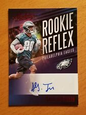 2017 Absolute Rookie Reflex Auto Red #43 Shelton Gibson Philadelphia Eagles WR