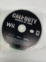 Call of Duty: World at War (Nintendo Wii, 2008) - Disc Only