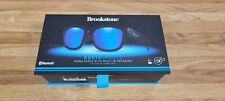 Brookstone Audio Shades Sunglasses with Built in Dual Speakers Bluetooth New