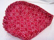 Longaberger Blushing Hearts Liner Only for 2009 Sweetheart Tender Heart Basket