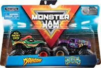 Monster Jam - Authentic 2 Pack, 1:64 Scale Die-Cast Monster Trucks (Styles Vary)