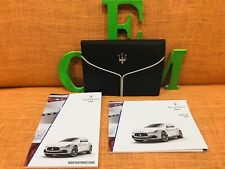 2017 MASERATI GHIBLI S Q4 OWNERS MANUAL ((New CASE STYLE) BUY OEM FAST SHIP 17