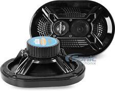 "Bazooka MAC6910B 150W 6"" x 9"" 3-Way Coaxial Marine Speakers (Black)"