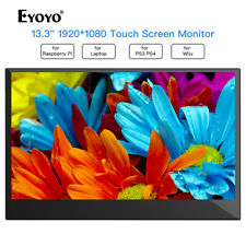 13.3Inch 1920*1080 10 Point Touch Screen Gaming Monitor for PS3 PS4 PC desktop