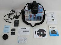 CANON EOS 400D 10.1MP Digital SLR Camera With EF-S 18-55mm Zoom Lens - Black
