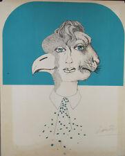 Le chérubin : Lithographie signée Félix LABISSE
