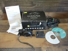 Nikon coolpix s8100 camera 12.1 with accessories and manual works nr