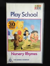 PLAY SCHOOL ~ NURSERY RHYMES ~ ABC FOR KIDS ~ VHS VIDEO
