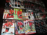 Huge Lot of 50 Chris Chelios Hockey Cards Blackhawks