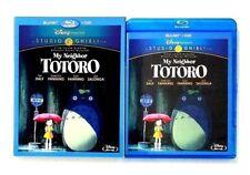 Studio Ghibli My Neighbor Totoro (2-Disc Blu-ray/DVD) with OOP Slipcover!