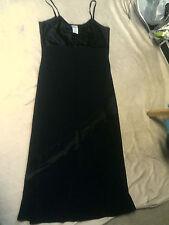 FAB black strappy LONG/MAXI dress size 16 by LAURA ASHLEY VGC
