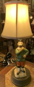 Small Figural Table Lamp; Monkey