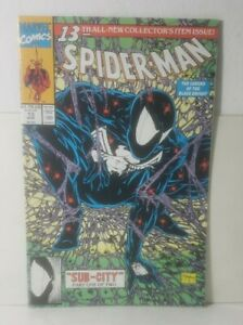 Spider-Man 13 (1991 MARVEL)[THE LEGEND OF THE BLACK KNIGHT / TODD MCFARLANE] NM+