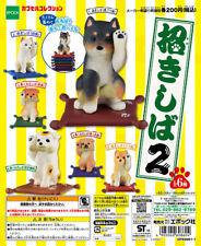 Epoch Capsule Animal Maneki Dog Shiba inu Part2 招きしば Completed Set 6pcs
