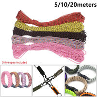 550 Rope Paracord Cord Tent Rope Survival kit For Hiking Camping