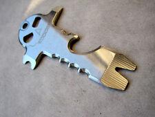 U.S. Seller EDC Multi Tool Skull Opener Survival Tool Stainless steel Keychain