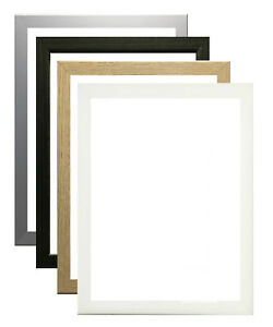 Modern thin Picture Frame Photo Frames Home Decor Poster Frame Multi Size