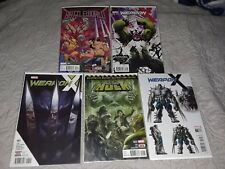 Ultimate Weapon H Lot! Totally Awesome Hulk 22 ,Weapon H #1 Variants. 7 Book Lot