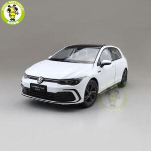 1/18 Golf 8 R Line VW Volkswagen Diecast Model Toys Car Boys Girls Gifts White