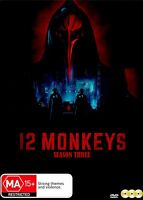 12 MONKEYS - SEASON THREE [NTSC REGION FREE] (3DVD) SEALED