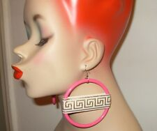 **NEW BASKETBALL WIVES INSPIRED TRIBAL VINTAGE PINK EARRING PAPARAZZI POPARAZZI*