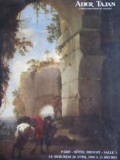 Catalogue TABLEAU ANCIEN Old master painting Peinture ancienne XVIIe XVIIIe 18th