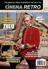 Cinema Retro #28 Zulu, Michael Caine, Goldfinger, Butterfield 8, Richard Kline