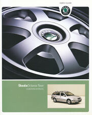 Skoda Octavia Tour accesorios folleto 2007 1/07 skoda auto folleto folleto auto