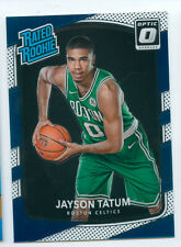 2017-18 Panini Donruss Optic Jayson Tatum Rated Rookie RC Celtics