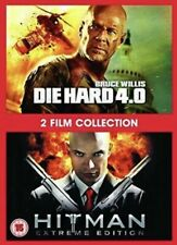 Die Hard 4.0 / Hitman Extreme Edition 2 Film Collection DVD New And Sealed