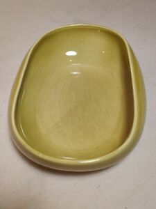 Russel Wright Steubenville Chartreuse Green Oval Vegetable Bowl