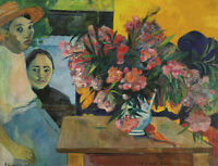 The Flowers Of France Paul Gauguin Fine Art Print on Canvas Repro Giclee Small