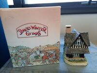 """David Winter Cottages British Traditions August """"Grouse Moor Lodge"""" 1989"""