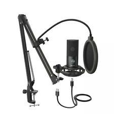FIFINE T669 USB Studio Condenser Microphone. NEW OPEN BOX