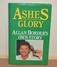 Vintage 1989 Cricket Ashes Glory Allan Border's Own Story Signed Autographed `
