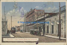 PARAGUAY ASUNCION CALLE ESTRELLA BOLSA DE COMERCIO Nª 18 TRAMWAYS