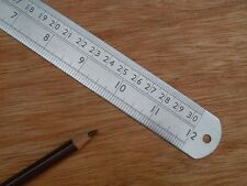 Fisher Precision 12 Inch Stainless Steel Rule Ruler