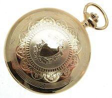 Relojes de bolsillo de oro Cazador completo esqueleto mecánico relojes de  bolsil. 611c072dc0b9