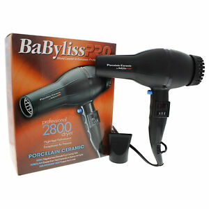 *BAD BOX* BABYLISS PRO PORCELAIN CERAMIC 2000 WATT 6 HEAT HAIR BLOW DRYER BP2800