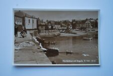 Vintage Photo Postcard - The Harbour and seagull - St Ives